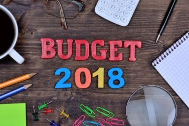 Budget 2018 on table