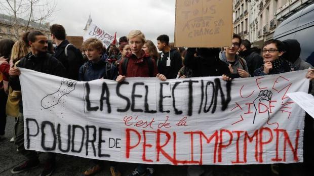 FRANCE-EDUCATION-BACCALAUREAT-REFORM-DEMO